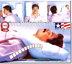 Comfortable Positions To Sleep In Cervical Support Pillow At Www Necksolutions Com Provides