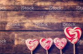 s day lollipops valentines day decoration with heart lollipops stock photo 534266581