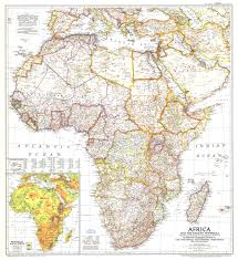 Africas Map by 1950 Africa And The Arabian Peninsula Map Historical Maps