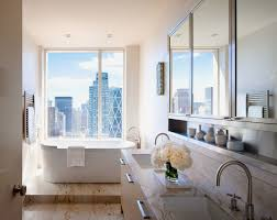 decorating new home bathroom simple new york apartment bathrooms home design