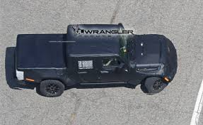 jeep truck 2017 2019 jt wrangler pickup truck spotted testing u2013 extremeterrain