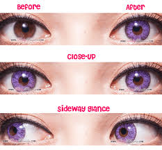 super violet circle lenses colored contacts pinkyparadise