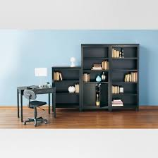 Moving Bookshelves Carson 5 Shelf Bookcase With Doors Threshold Target
