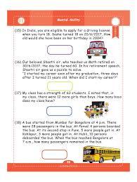 geniuskids u0027 worksheets for class 4 grade 4 set of 6 work books