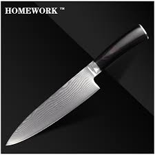 buy kitchen knives aliexpress buy xyj brand damascus pattern knife 8 inch chef
