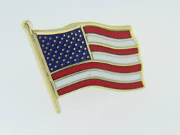 Red Blue Yellow Flag Patriotic American Flag Red White U0026 Blue Enamel Tie Tack Pin In