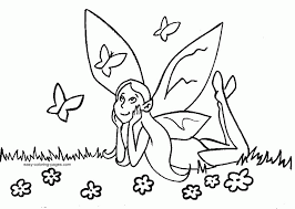 printable fairy coloring pages coloring
