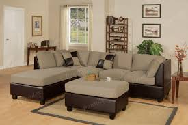 Chenille Sectional Sofas by Chenille Sectional Sofa With Chaise Blackbrown Clubber Sleeper In