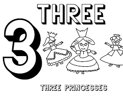 free printable number coloring pages number 3 coloring page getcoloringpages com