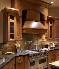 Slate Tile Backsplash Pictures And by Kitchen Of The Day Rustic Kitchen Design With Pro Viking Range
