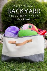 How To Throw A Backyard Party Host Your Own Field Day Party At Home