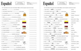 spanish ser and estar 22 fill in the blank practice worksheet by