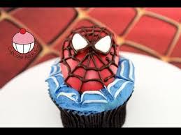 spiderman cupcakes decorate spiderman cupcakes a cupcake