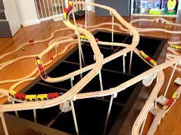 Coaster Bookshelf Roller Coaster 23 Project Train Tracks