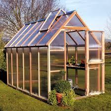 Greenhouse Starter Kits Sunshine Mt Hood 6 X 8 Foot Greenhouse Kit Hayneedle