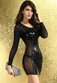 buy halloween contact lenses lustrous metallic mini dress with mesh sleeves lc9190