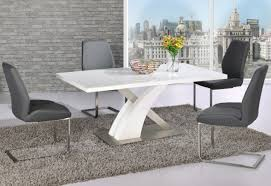 Dining Table And 6 Chairs Cheap White High Gloss Dining Table 6 Chairs Maggieshopepage