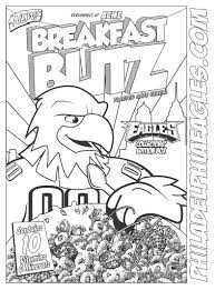 14 images of philadelphia eagles player coloring pages