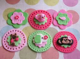 cupcake ideas for baby shower jungle baby shower fondant