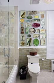eclectic bathroom ideas kati kurtis design artwork tiles plates wall washroom better