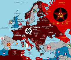 Ww2 Europe Map Germany Map Of The Occupation Areas Created 1946 By Johannes Why