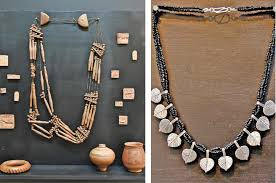 jewellery inspired from indus civilisation exhibited pakistan