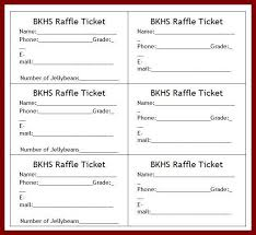 templates for raffle tickets 11 raffle tickets template word sendletters info