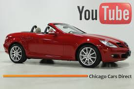 chicago cars direct presents a 2005 mercedes benz slk350 roadster