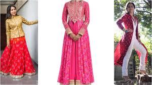 design dresses bandhani bandhej print design dresses for 2017