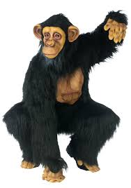 quality halloween costumes for adults chimpanzee costume