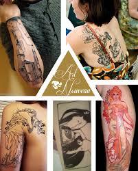 tattoo ideas 7 art nouveau i mademoiselle stef