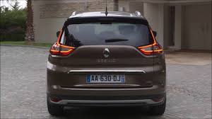 renault grand scenic 2017 renault grand scenic rear wallpapers 7515 download page