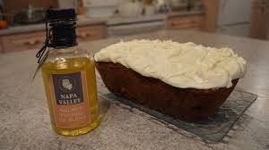 incredible carrot cake walnut cream cheese icing wine country