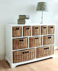 Rattan Bookcase Bookcase Bookcase With Baskets Cubby Bookcase With Baskets