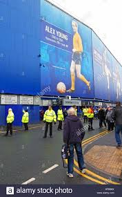 Top Balcony Goodison Park by Fans Start To Arrive At Goodison Park For Everton U0027s Home Match