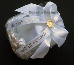 printed ribbons for favors personalized christening ribbon baptism ribbons sles continuous