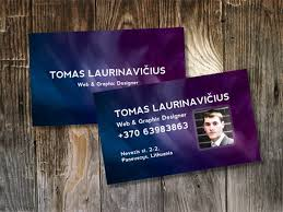Purple Business Cards 100 Free Psd Business Card Templates