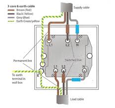 install shower extractor fan electrics at how to wire an isolator