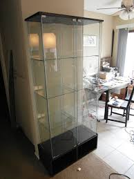 Curio Cabinet Ikea Detolf Glass Door Cabinet Image Collections Glass Door Interior