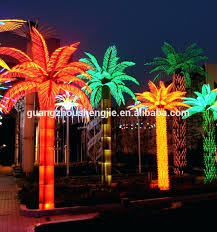 outdoor palm tree l artificial ficus tree with lights lighted silk trees outdoor palm l
