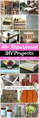 the decorative genius of repurposing places in the home 40 repurposed diy projects to upgrade your home diy crafts