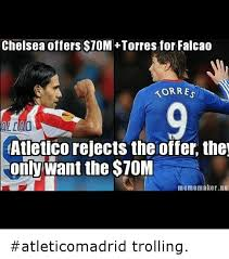 Torres Meme - chelsea offers 10m torres for falcao korres atletico rejects the