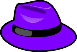 gallery for u003e purple winter hat clipart