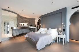 chambre villa chambre contemporaine dans une villa esprit loft