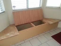 built in storage bench bench decoration