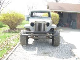jeep willys truck lifted finishing what i started 55 willys truck