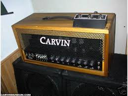 Custom Head Cabinet The Carvin Museum Amps U0026 Pro Audio Spotted On Ebay