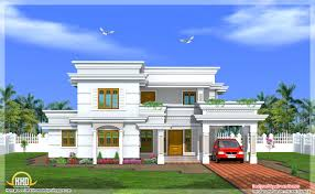 Kerala Home Design August 2012 Modern Two Story 4 Bedroom House 2666 Sq Ft Kerala Home