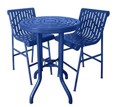 Patio High Table And Chairs Patio Tables And Chairs With 20 Year Warranty Premier Polysteel