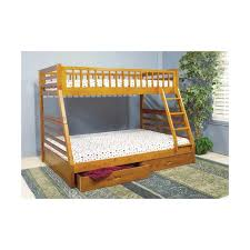 Single Over Double Bunk Bed Frame Only Mattress Depot - Single double bunk beds